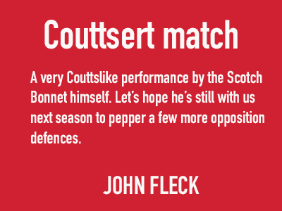coutts of the match